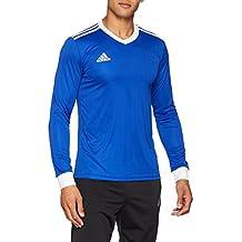 adidas CZ5457 Camiseta Mangas Largas, Hombre, Azul (Bold/White), S