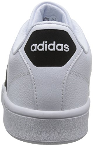 adidas CF Advantage, Sneakers Basses Homme Blanc Cassé (Ftwr White/core Black/ftwr White)
