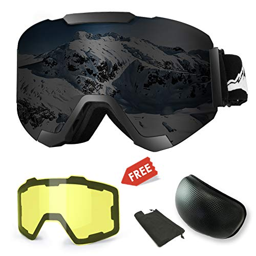 Skiing & Snowboarding Imported From Abroad Wide Vision Professional Ski Goggle Eyewear Anti-fog Uv400 Ski Glasses Skiing Snowboard Men Women Snow Goggles Helmet Compatible Sale Price Skiing Eyewear