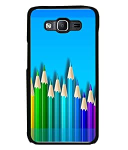PrintVisa Designer Back Case Cover for Samsung Galaxy J7 J700F (2015) :: Samsung Galaxy J7 Duos (Old Model) :: Samsung Galaxy J7 J700M J700H (Painting Drawing Art Pencil )