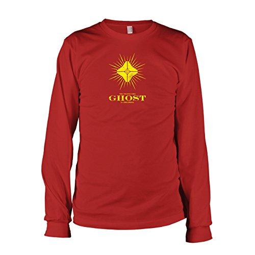 TEXLAB - Des Reisenden Geist - Langarm T-Shirt Rot