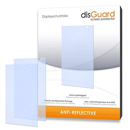 disGuard hartbeschichtet Anti-Reflective Bildschirmschutzfolie für Hisense HS-U980BE-2 (3-er Pack)
