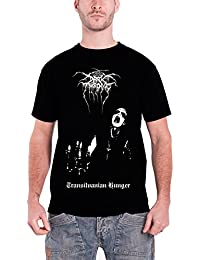 Darkthrone T Shirt Transilvanian Hunger Album Cover Logo offiziell Herren Nue