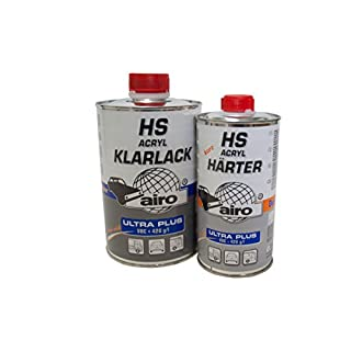 1,5 Liter Acryl-Klarlack HS Ultra Plus, Härter:kurz