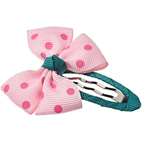 Tongshi Cuerda de perlas de los granos Rose Band pelo de la flor de Scrunchie del Ponytail (rosa)