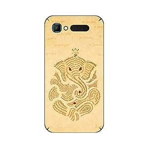 ezyPRNT Back Skin Sticker for Intex Aqua Y2 Pro Lord Ganesh Ganpati