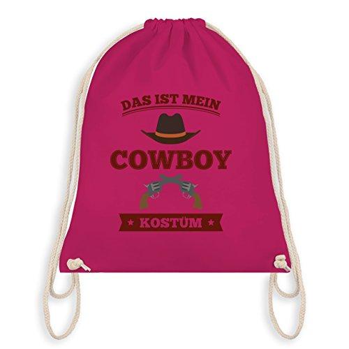 - Das ist mein Cowboy Kostüm - Unisize - Fuchsia - WM110 - Turnbeutel I Gym Bag (Beste Cowboy-kostüm)