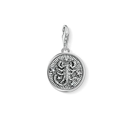 Thomas Sabo Damen Herren-Charm-Anhänger Sternzeichen Skorpion Charm Club 925 Sterling Silber 1647-643-21