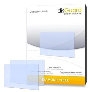 """3 x disGuard® Schutzfolie Nintendo DS Displayschutz Folie """"DiamondClear"""" unsichtbar"""