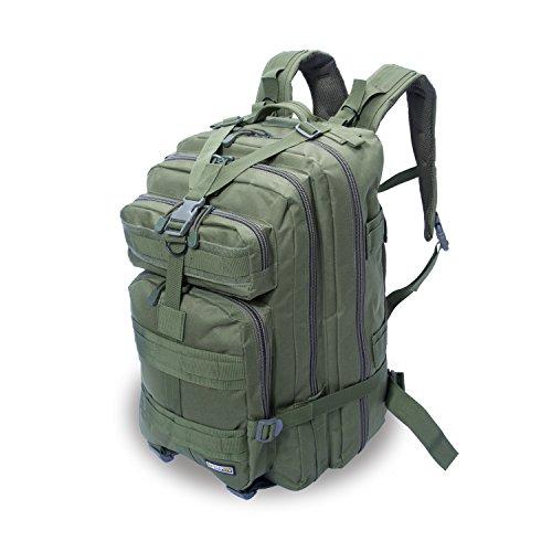 Imagen de eyourlife rfid  militar táctica molle para acampada camping senderismo deporte backpack de asalto patrulla para hombre mujer 40l verde ejército