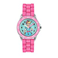 Disney Kids Time Teaching Toy Story Bo Peep Watch with Pink Rubber Strap