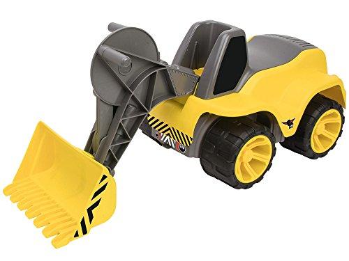 BIG- Vehículo de Pala cargadora con Asiento para niño, Color Amarillo (800055813)