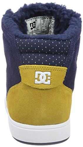 Dc Universe Herren Crisis Wnt High-top Blau (navy / Gold - Ngl)
