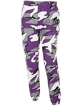 Huixin Pantalon Militar Mujer Largas Elegantes Otoño Outdoor Pantalon Deporte Casuales Pantalon Cargo Basicas...