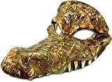 Carnival-Halloween-Masque vénitien effet croco