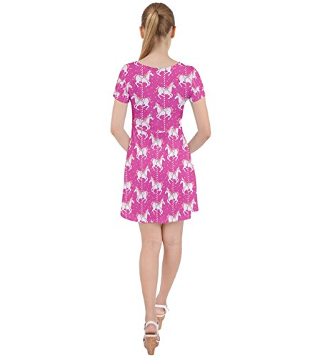 CowCow - Robe - Femme Rose Rose Hot Pink 2