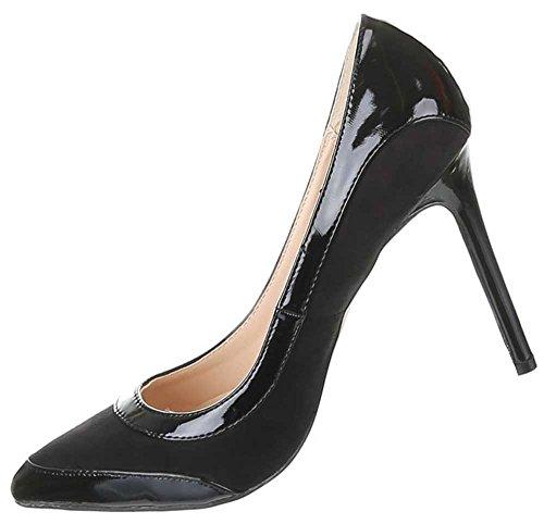 Sapatos Estilete Sapatos Bombas Femininos Femininos Estilete Bombas Preto Preto Bombas nqwYgHF6YO