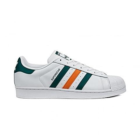 adidas Superstar Foundation chaussures white/green/orange