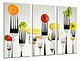 Cuadro Moderno Fotografico Cocina Restaurante, Tenedores