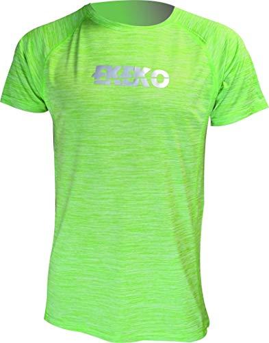 Camiseta running Ekeko Teide verde flash