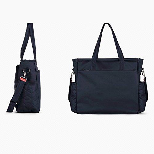 Samber Frauen Rucksack Baby Spaziergänger Windel Beutel Wasserdichte Handtaschen Blau