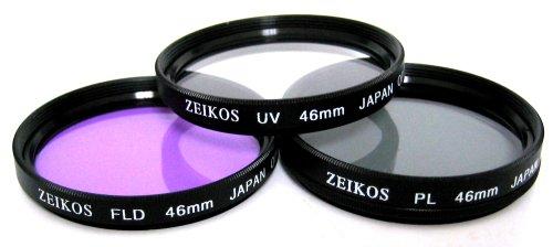 Zeikos ZE-FLK40.5- Glasfilter-Set (UV-CPL-FLD), 46mm Zeikos-serie