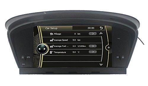 LIKECAR Wince6.0 capo unità Car Stereo GPS navigatore satellitare DVD Player 6.5 pollici in precipitare HD Touchscreen per BMW 5er E60 E61 E63 E64 M5 (2003-2010) supporto GPS / Navi / USB / SD / 3G / DVR / DVB-T Box ingresso / uscita subwoofer / Cam-in / Bluetooth / controllo del volante Funzione / FM / AM Radio Stereo Multimedia Station Navigation System con SD Card gratuita