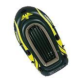 Kayak gonfiabile all'aperto Gommone Gonfiabile Confortevole Kayak Tempo Libero Pieghevole Barca 2-3 Persone Marine Sport Pesca Avventura Spesso PVC Resistente All'usura Plastica 2 Dimensioni Verde Scu