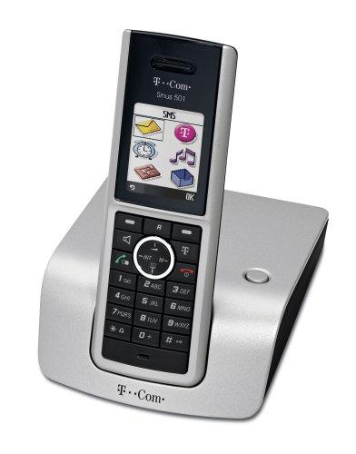 T-Com Sinus 501i Schnurloses ISDN-Telefon mit Farbdisplay, gebraucht gebraucht kaufen  Wird an jeden Ort in Deutschland