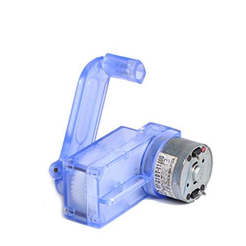 YJZ 6V Handkurbel-Dynamo-Generator DIY mechanischer Motor-Untersetzungs-Zahnrad-Kasten 6-volt-generator