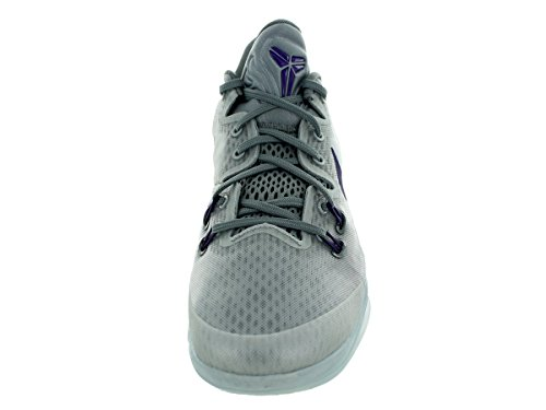 Nike  Zoom Kobe Venomenon 5,  Herren Basketball Turnschuhe Grau / Dunkelviolett / Versilbert (Wlf Gry / Crt Prpl-Cl Gry-Pr Plt)