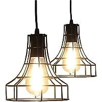 Amazon.es: lamparas techo rusticas de cocina - 20 - 50 EUR ...