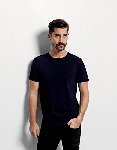 SELECTED HOMME Herren T-Shirt 16034242 Pima ss o-neck Schwarz (Black)