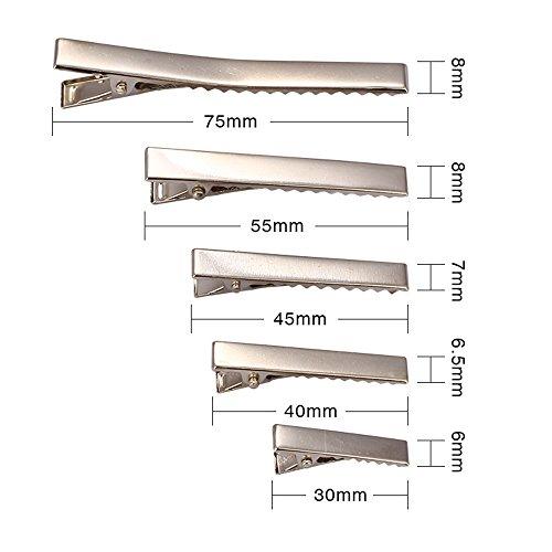 10-pcs-hair-clips-barrette-silver-colour-75mm-long