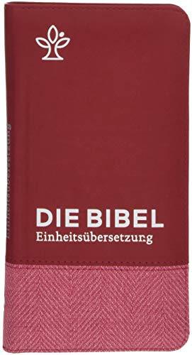 Die Bibel. Taschenausgabe Tweed mit Reißverschluss: Gesamtausgabe. Einheitsübersetzung