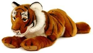 Keel Toys 64840 - Peluche - Tigre - Couche - 46 cm