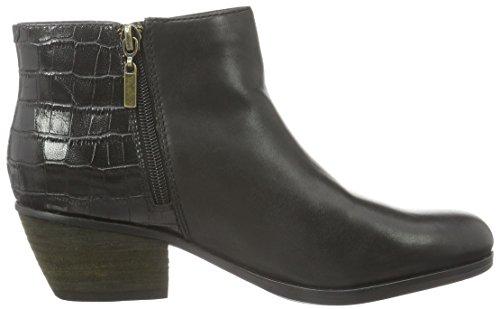 Clarks Gelata Italia, Stivaletti Donna Nero (Black Combi Leather)