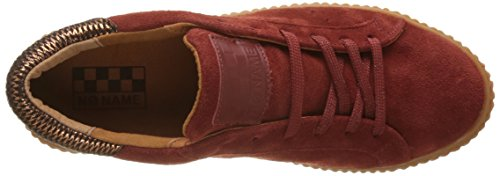 Unbekannt Damen Picadilly Sneaker Suede Flach Rouge (Pumpkin Sole Mastic)