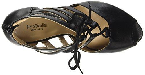 Nero Giardini P717402de, chaussures à bouts ouverts femme Nero (100)