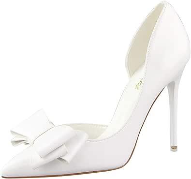 Moquite Nuovo Sexy Moda Scarpe col Tacco Donna Tacco a Spillo Alto Sandali Shoes Primavera ed Estate con Tacco Alto Femminile