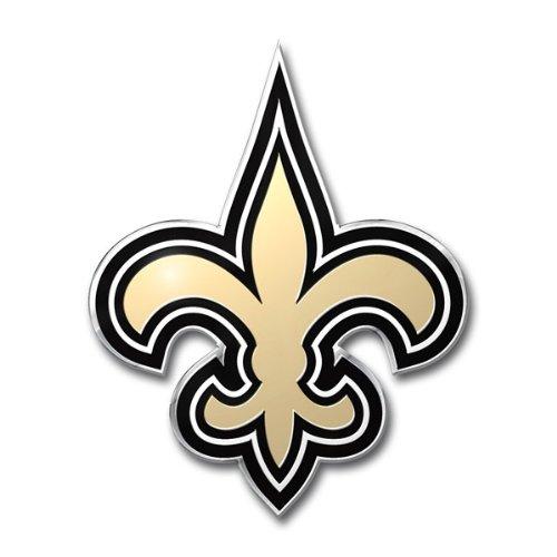 Team ProMark NFL Stanz-Emblem, Farbe, New Orleans Saints, 4
