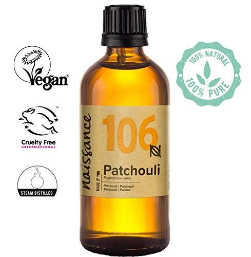 Französisch Parfüm Öl (Naissance Patchouli (Nr. 106) 100ml 100% naturreines ätherisches Öl)