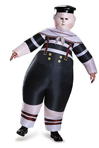 Dum Kostüm Tweedle Dee - Alice Through The Looking Glass Tweedle Dum/Tweedle Dee Inflatable Adult Costume One Size