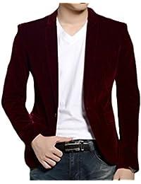 Chaqueta americana blazer de terciopelo, negro, azul marino, rojo, 1 a 15 años