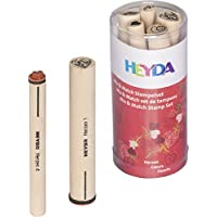 "HEYDA Kit de tampons à motifs Mix & Match ""coeurs"""