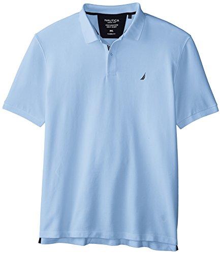 Nautica Herren K41050 Poloshirt, blau (Noon Blue), L