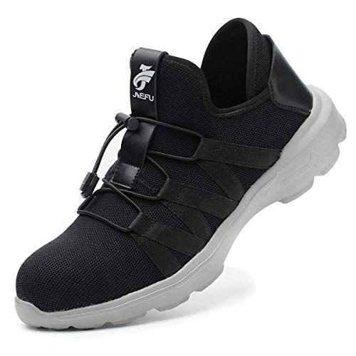 8ca73522d SROTER Unisex Steel Toe Cap Safety Ultra Lightweight Breathable Work  Trainer Shoes Sport Sneaker Safety Shoes