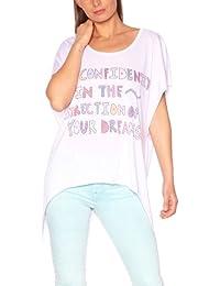 American Retro - Bianca - T-Shirt - Femme