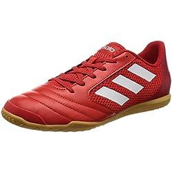 adidas Ace 17.4 Sala, Botas de Fútbol para Hombre, Rojo (Red / Ftwr White / Scarlet), 41 1/3 EU