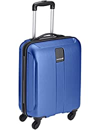 Safari Thorium Polycarbonate 55 cms Blue Hardsided Carry On (Thorium-Stubble-Dazzling-Blue-55-4WH)